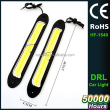 2pcs Cars LED DRL COB High Bright Daytime Running Lights for Auto Driving Lamp Car-styling Day Light LED 12v