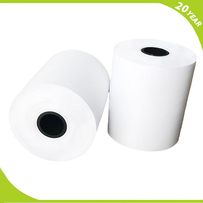 70gsm Till <strong>rolls</strong> 80x80 mm ticket dispenser BPA FREE Thermal paper