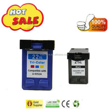 Original quality Ink Cartridge for hp 21xl 22xl ink cartridge for hp ink cartride 21xl for hp inkjet printer