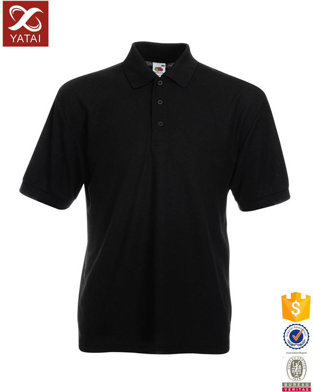 High quality cheap black polo t shirts latest design buy for Where to buy polo shirts cheap