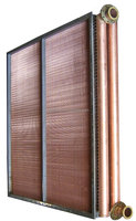 Industrial copper tube and fin condenser price