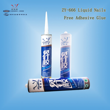 Zengyuan Clear Liquid Nail Glue For Construction