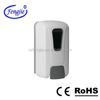 F1408 Foam personalized liquid hand soap dispenser with 1000ml disposable bag
