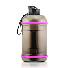 2019 BPA free large capacity half gallon gym <strong>sport</strong> water bottle PETG