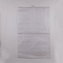 white parcel/mailing woven packaging bag/sack for express company