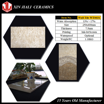 Spanish JiaLi Manufacturer Supply Ceramic Wall Tile,Cheap Glazed Ceramic Wall Tile