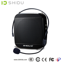 SHIDU high quality portable 18w peavey power amplifier with headset microphone