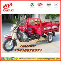 Best sale to africa KAVAKI three wheel moto cargo tricycle