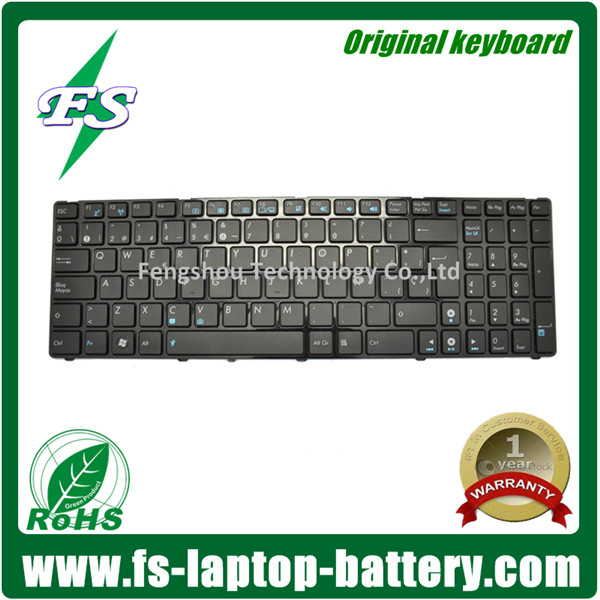 US layout 9J.N2J82.C0S laptop keyboard for ASUS G51 G72 N61 UX50V UL50 A52 W90 A53 X52 0KN0-FN2SP03 04GNV32KSP01-3