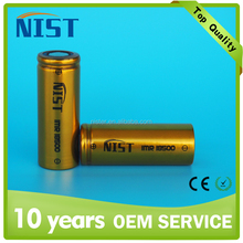 NIST rechargeable li-ion battery 20A 18500 battery 1200mAh