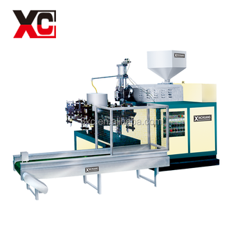 HDPE fully automatic blow molding machine
