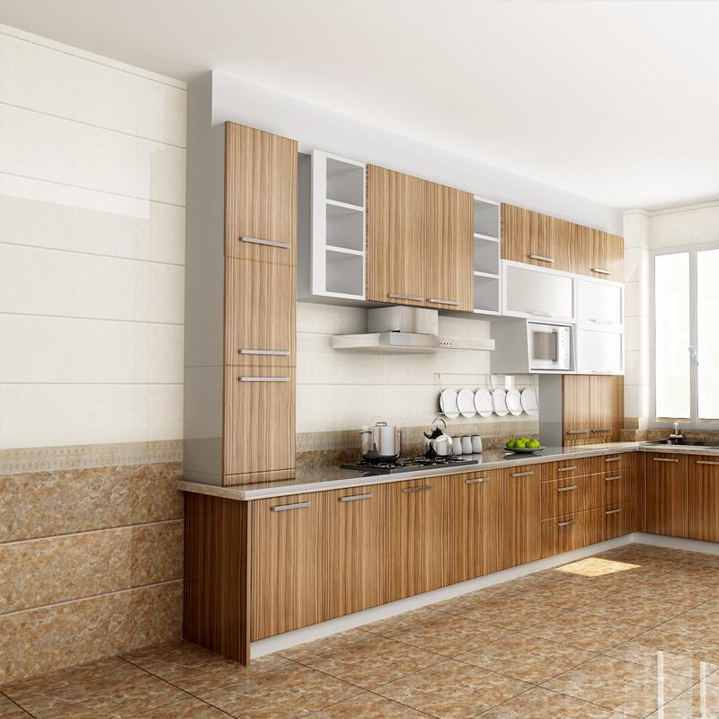 Interior Wall Tiles Designs / 2x2 Ceramic Tile / Kitchen