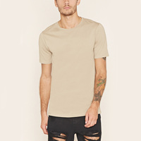 Cotton slim fit high quality t shirt wholesale blank t shirts for men