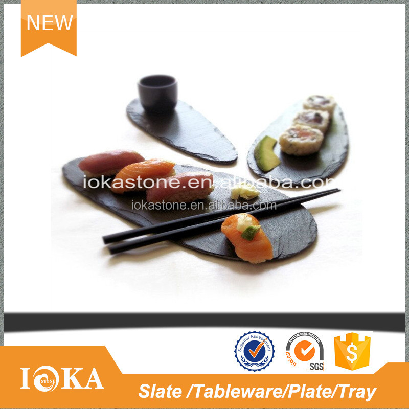 Hot-Selling Stone And Wooden Slate Stone Plate For Cheese Board