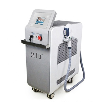 Acne treatment double handle ipl laser hair removal machine