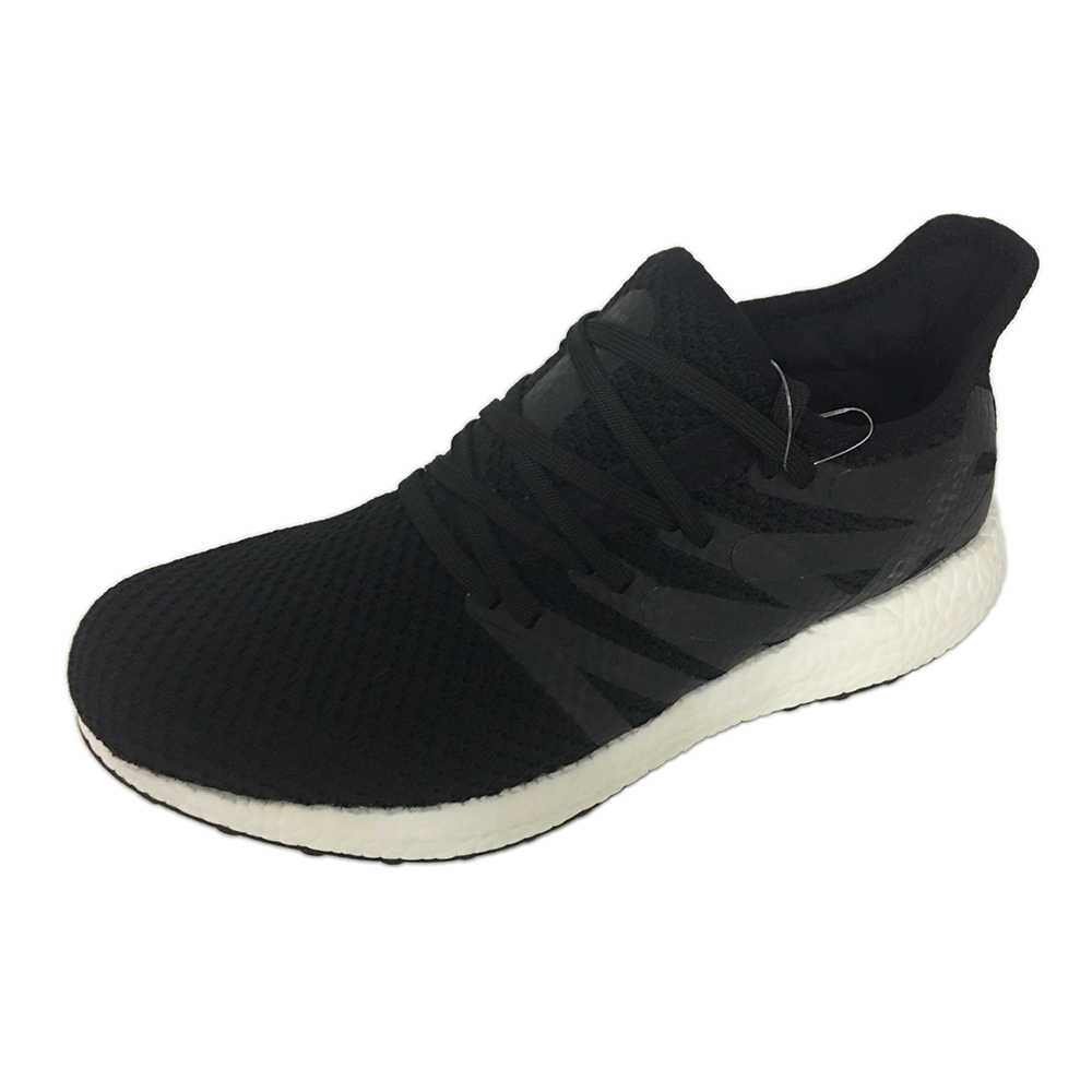 Featured New Arrival Black Flykniting Sports Shoes Wholesale