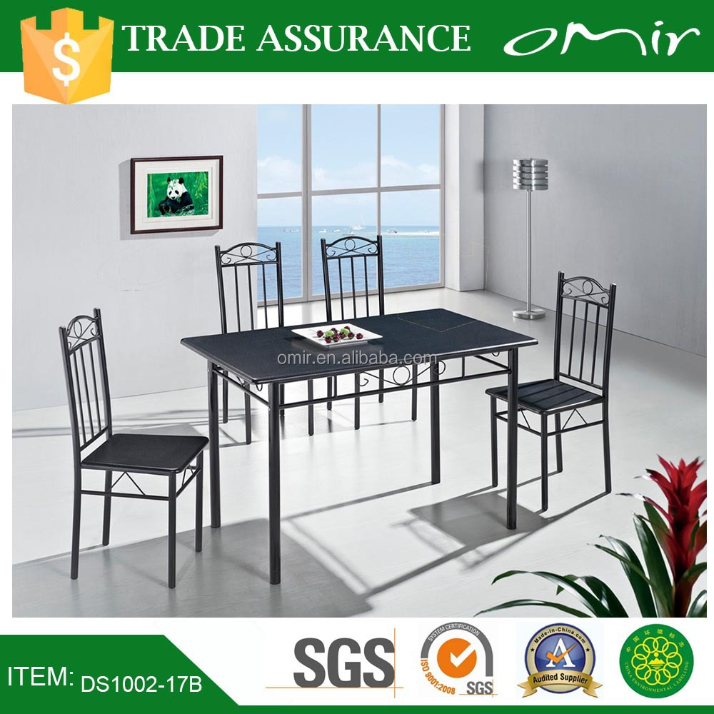 Marble Top Dining Room Furniture Table and Chair Dining Table Set