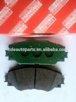 Semi-metal material china oem car brake pad manufacturer or factoy disc