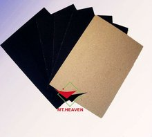 Grade A Black Paper Card grey/brown back