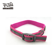 Pet accessories top-quality custom logo nylon dog collar