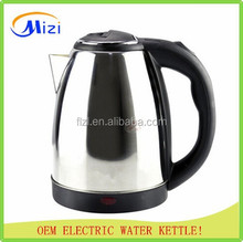 Fashion design!1.8L colorful stainless steel electric water kettle