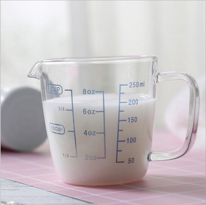 8oz 16oz 36 Oz Microwaveable Kitchen Measuring Glass Cup Graduated