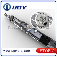 New arrival refillable wattage and voltage adjustable e cigarette ETOP-A genius electronic cigarette