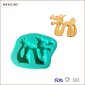 Dragon Shape Silicone Mold Cake Wedding Decorating Fondant New Design Sugar Tools Food-grade Moulds
