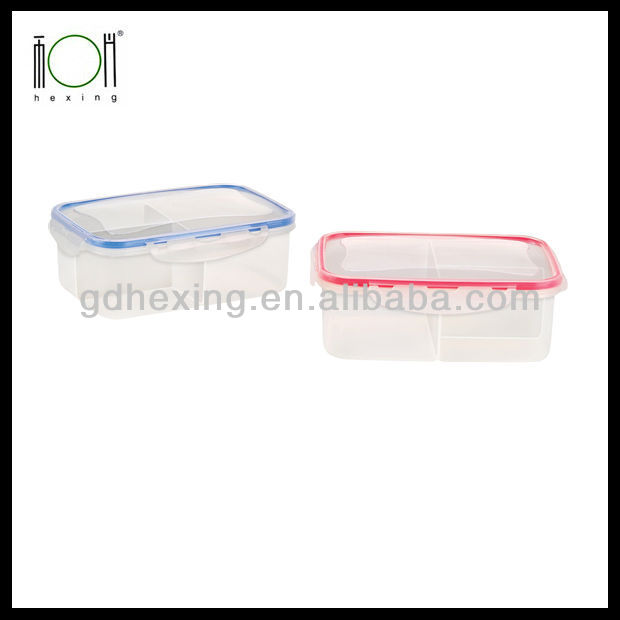 Decorative Plastic Lunch Breakfast Box Food Container