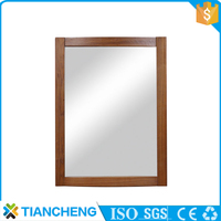 large size wood mirror frames in bulk