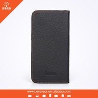 2015 hottest sale new genuine leather cell phone cover / case for iphone 6