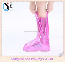Plastic shoe covers waterproof overshoes for walking