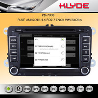 Direct factory 7inch golf 5 car gps navigation system Android 4.4.2 2 din car dvd player