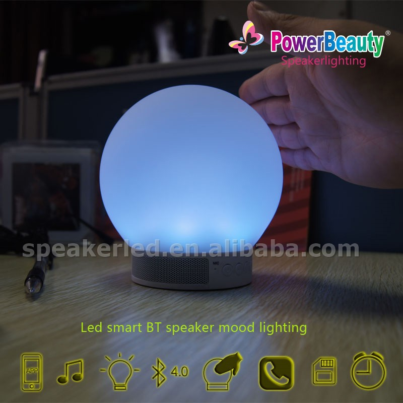blue tooth 4.0 light bulb audio mp3 bluetooth outdoor speaker