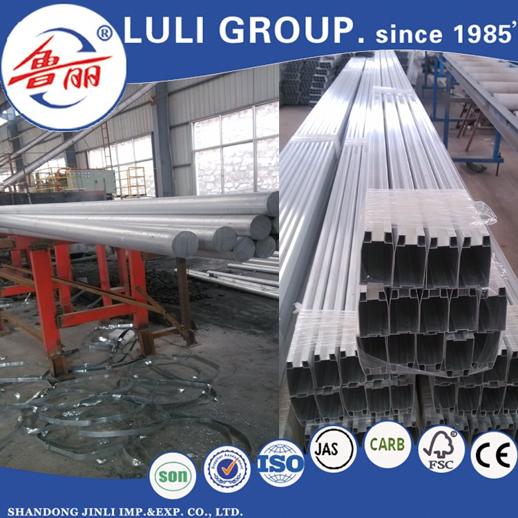 Aluminum profile for curtain wall from LULI GROUP
