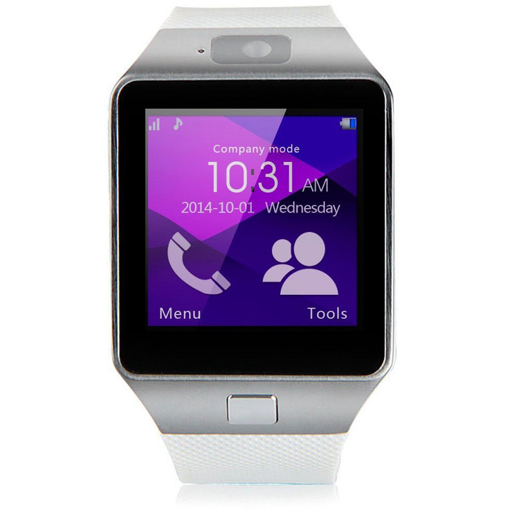 DZ09 bluetooth smart watch for android phone Christmas gift support SIM card TF card 4 colors in stock