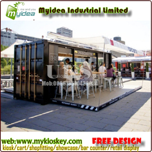 20ft and 40 ft Customized container cafe for sale.