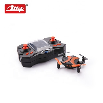 Attop foldable quadcopter 2.4G mini rc aircraft wifi camera pocket drone