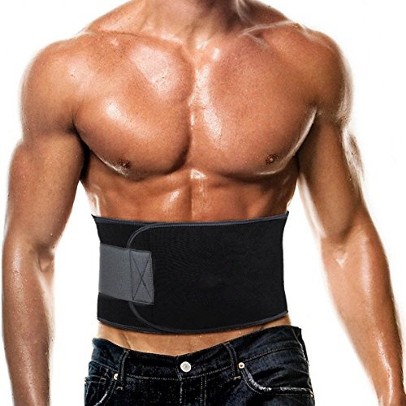 Waist Trimmer Exercise Belt Weight Loss Fat Burner Slimming Body Shape Belt
