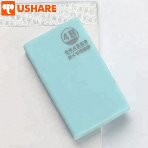 Chinese rubber factory hot sale kawaii fancy stationery Fine art PVC Eco-Friendly Material office pencil eraser for kids
