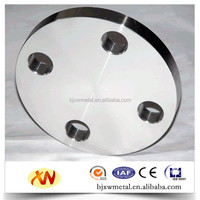 Gr2 ASTM B381 titanium flange for welding filler