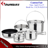 Outdoor Cookware Sets Stainless Steel Camping