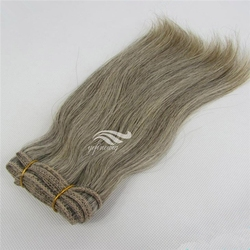 Wholesale High Quality Grey Hair Extension in Qingdao