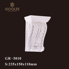 Goolee 2017 Hot Sale Carved Decorative Corbel Mold For Home Decor