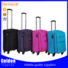 amazing products from china soft luggage wheels 360 degree swivel luggage expandable large luggage