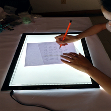 A4 LED Ultra-thin Artcraft Tracing Light Pad Adjustable Brightness Copy Board LED Light Box Tracer Drawing Pad