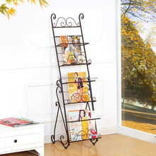Supreme quality best selling metal displaying book spinner rack