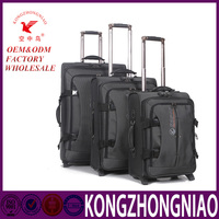 Nylon trolley case luggage with high quality material spare parts
