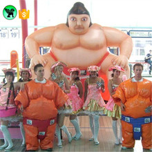 5m High Japanese Giant Sumo Inflatable Cartoon Customized For Advertising A637