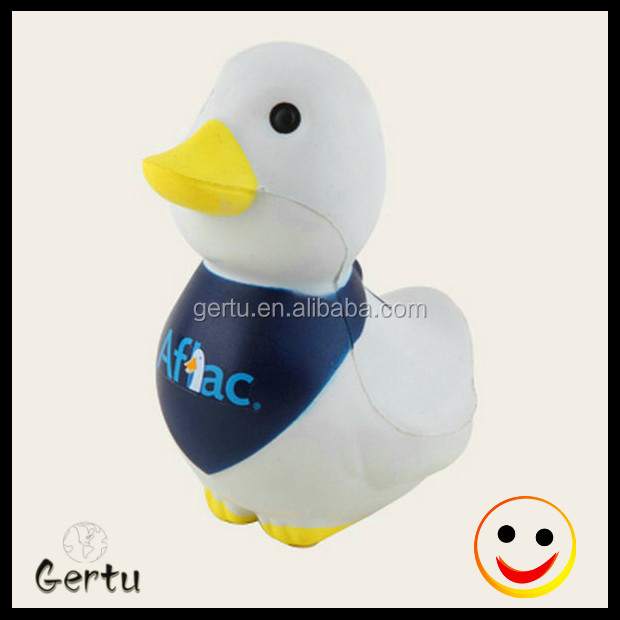 promtional custom Aflac duck stress ball